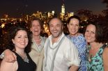 From left: Me, Lisa Consiglio, Colum McCann, Karen Lemons Hollins, Lara Weber (Photo credit: James Higgins)